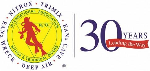 IANTD 30 Years logo Kopie1 485x231 Technisches Tauchen